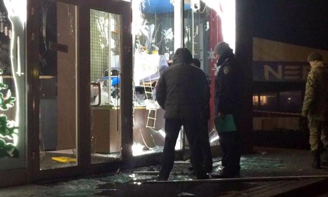 В магазине Roshen в Харькове произошел взрыв