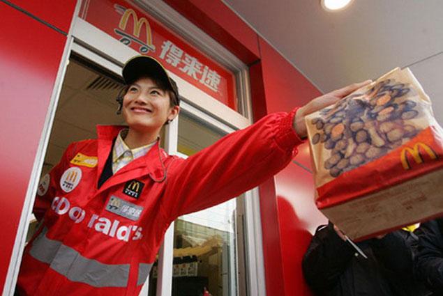 В Китае и Южной Корее откроется 1,5 тыс. ресторанов McDonald's