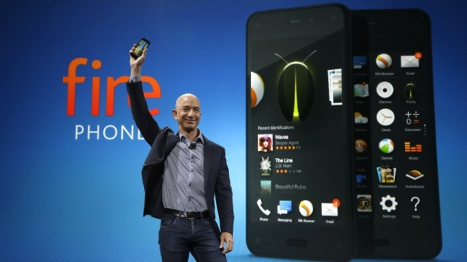 Amazon начал продажи собственного смартфона Fire