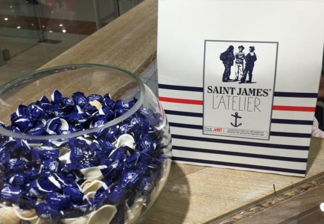 Французский бренд Saint James открыл первый корнер в Москве