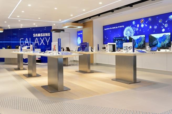 Samsung запустит в Европе 60 магазинов