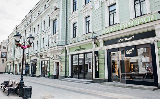 Столешников переулок выбыл из первой десятки самых дорогих торговых улиц мира