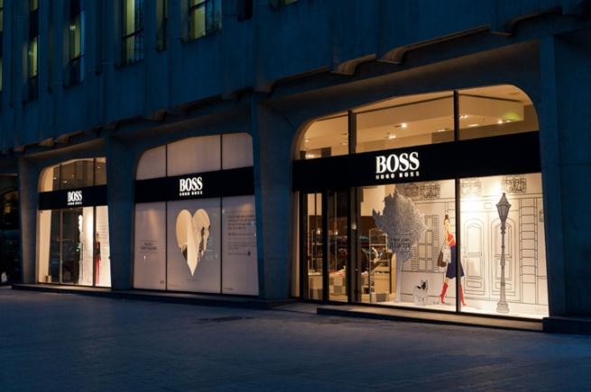 В Москве откроется флагманский бутик Hugo Boss