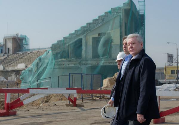Возле метро «Петровский парк» снесут торговый комплекс