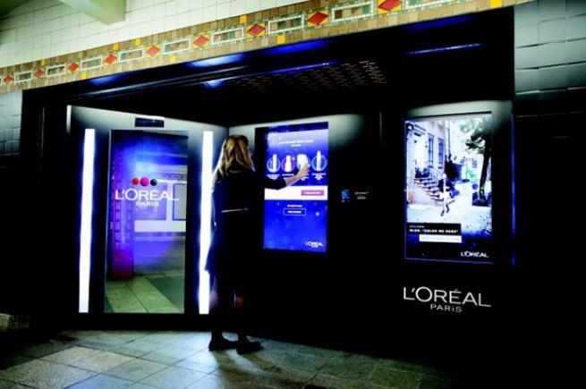 L'Oreal запустила автомат-консультант