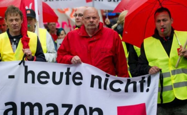Немецкие сотрудники Amazon грозят забастовкой