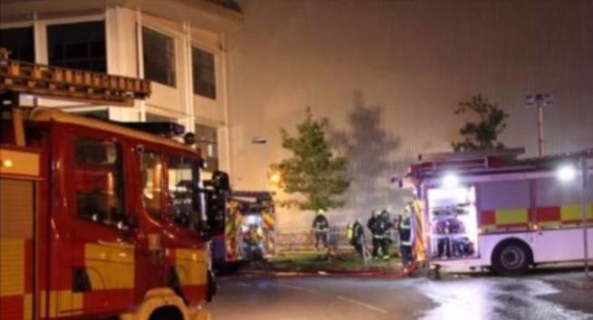 На складе Asos произошёл пожар