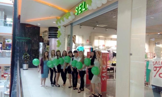 Sela открыла первый собственный магазин в Новокузнецке