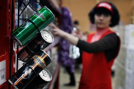 Алкогольные энергетики исчезнут с прилавков Петербурга