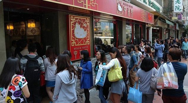 В Гонконге откроют китайский ресторан в честь Hello Kitty