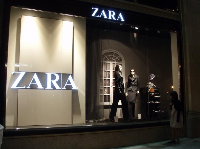 Zara установит планшеты в примерочных своих магазинов