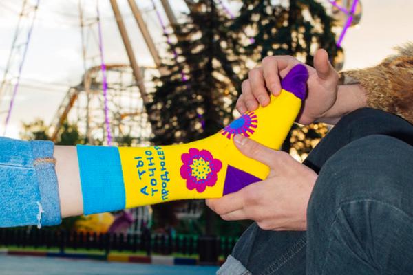 Коллаборация STEREOLETO и St.Friday Socks  - летняя серия носков