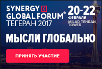 SYNERGY GLOBAL FORUM ТЕГЕРАН 2017