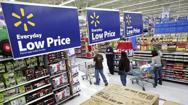 За прошлый год Walmart показал худшие за 35 лет результаты