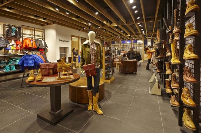 Мода и самобытность. Главный магазин Timberland от Green Room f677f836a5f8a