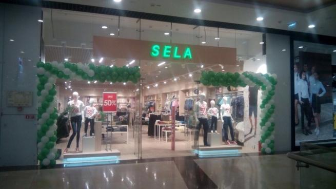 Sela открыла новый магазин в Москве