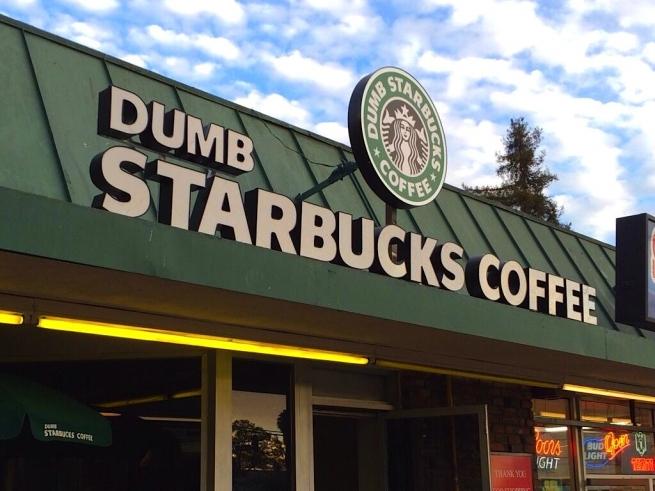 В Лос-Анджелесе открылся «дурацкий» Starbucks