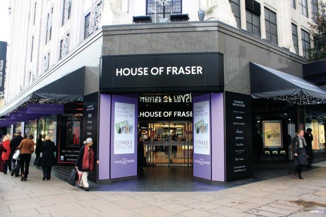 House of Fraser ищет площадки для магазинов в России