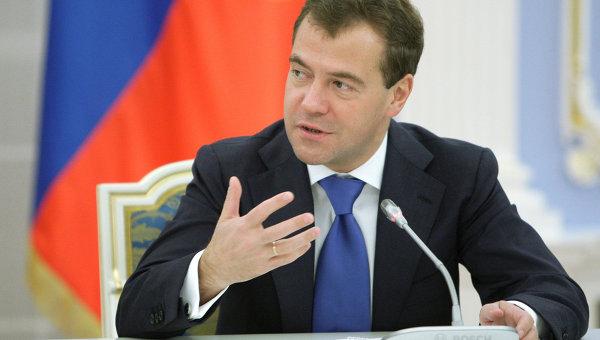 ТАСС: Медведев подписал постановления о выделении более 35,7 млрд руб на сельское хозяйство