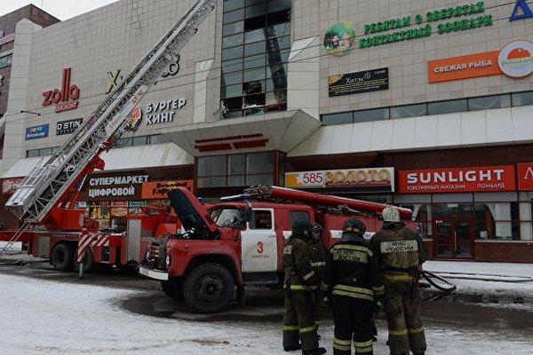 Число жертв пожара в Кемерово возросло до 53 человек