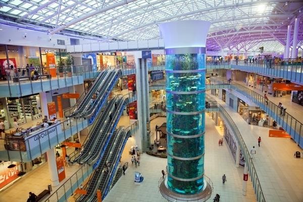 Предложение торговых площадей в Москве выросло почти в пять раз за год
