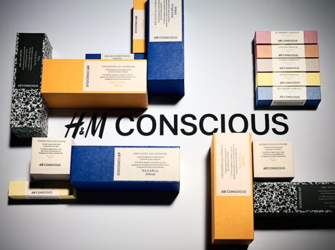 H&M выпустил собственную линию экокосметики