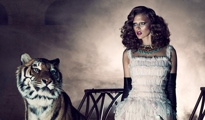 Модные бренды будут перечислять деньги на благотворительность за тигровые принты