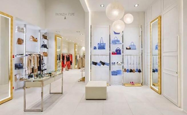 Patrizia Pepe открыл свой первый бутик в Петербурге