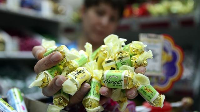 Россия запретила украинские конфеты