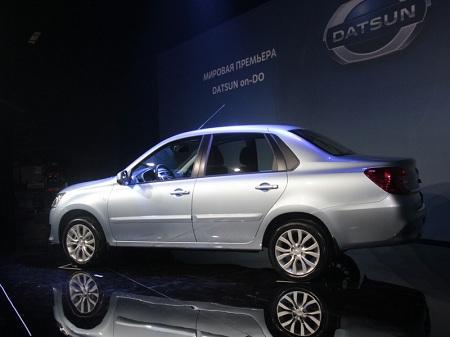 В России бюджетный седан Datsun on-DO подорожал на 10 тыс руб
