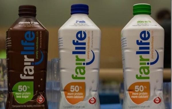 В США начались продажи молока от Coca-Cola