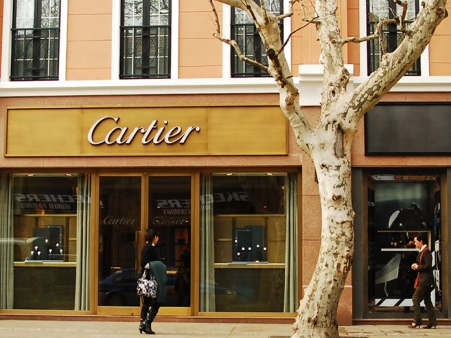 За девять месяцев 2016 г. продажи Cartier сократились на 7%