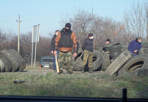 В Донецке захватили фуры Roshen