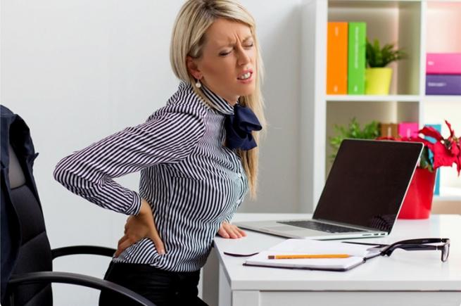Коль болит у вас спина, значит, жизнь раздражена