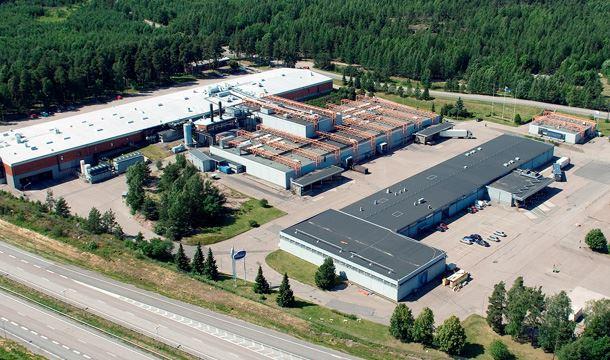 В Финляндии горит завод Valio