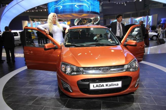 Рыночная доля автомобилей LADA превысила 20%