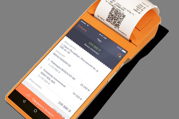 Модульбанк представил первую онлайн-кассу для курьеров