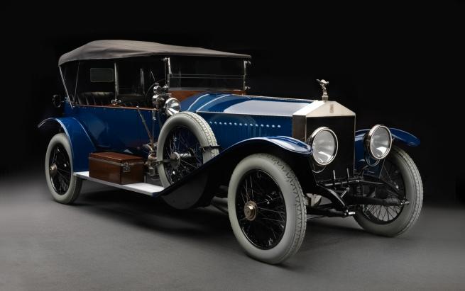 На Авто.ру продается 100-летний Rolls Royce Николая  II