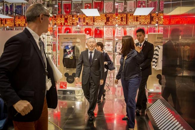 Uniqlo планирует обойти H&M и Zara в Китае