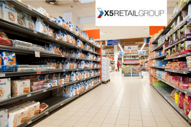 Прибыль X5 Retail Group выросла на 25%
