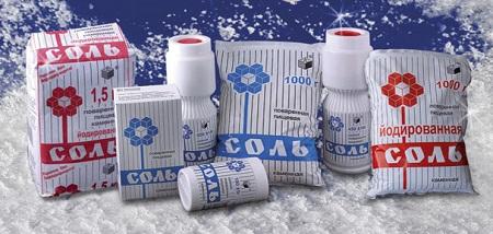 Запрет поставок украинской соли не скажется на российском рынке
