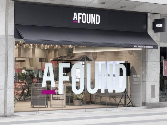 H&M запустил первый магазин Afound