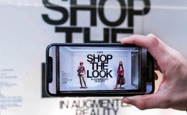 Zara представили в Москве приложение дополненной реальности