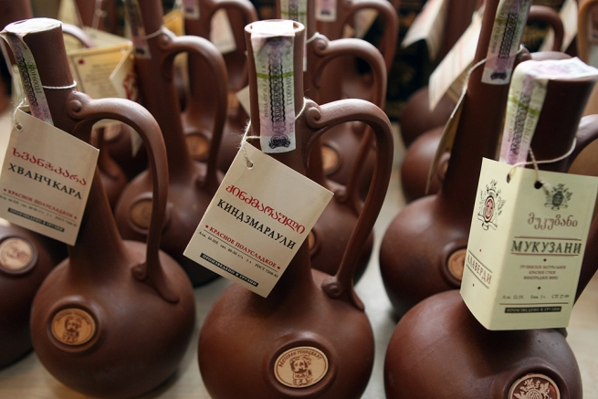 Экспорт грузинского вина вырос на 250%