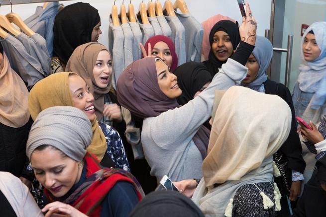 В Лондоне был открыт первый люксовый бутик для мусульманок
