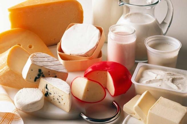Импорт зарубежных молочных продуктов в августе упал на 57%