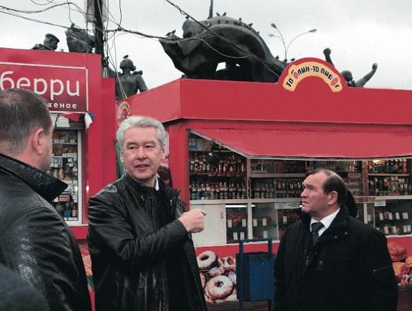Власти Москвы не будут демонтировать киоски и павильоны