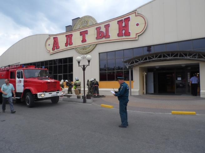 Казанский ТЦ «Алтын» опечатали из-за нарушений пожарной безопасности