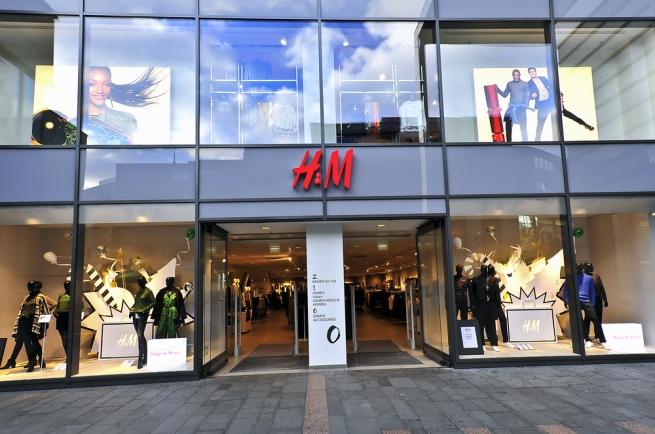 Апрельские продажи H&M увеличились на 5%
