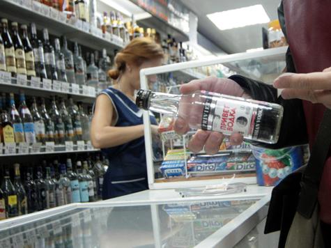 Минимальные цены на водку вырастут до 190 рублей